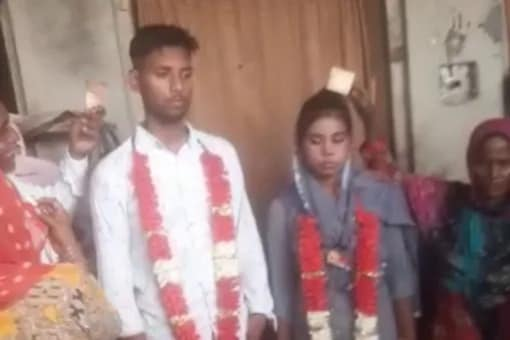 The wedding was done in the presence of local police.