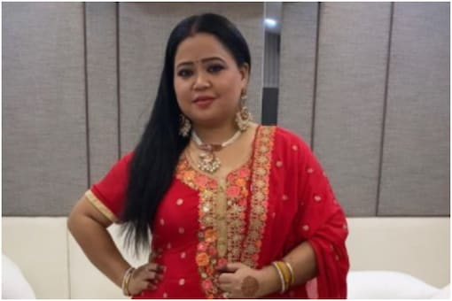 Actress and host Bharti Singh
