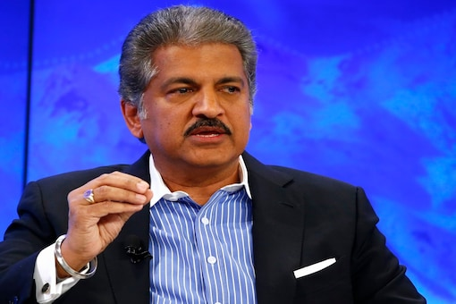 File photo of Anand Mahindra.  REUTERS/Ruben Sprich