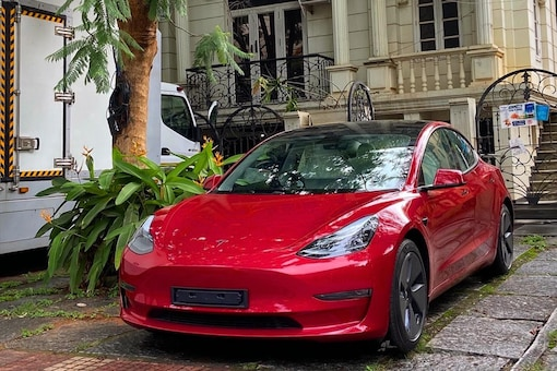 Tesla, the Elon Musk-owned EV company, announced its entry into the Indian markets and registered its company on January 8 this year. (Image source: Facebook/Automobiliardent)
