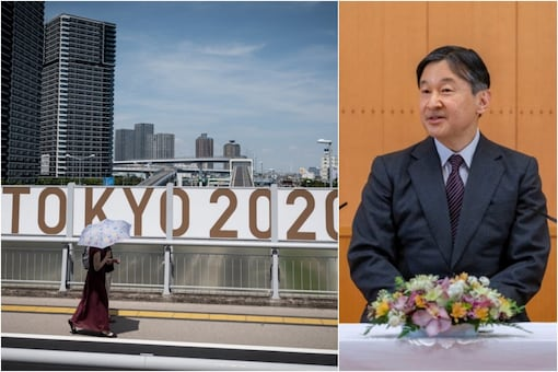 Japan's Emperor Naruhito will attend the opening ceremony of the virus-delayed Tokyo Olympics (AFP)