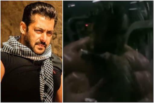 Salman Khan prepares for a film