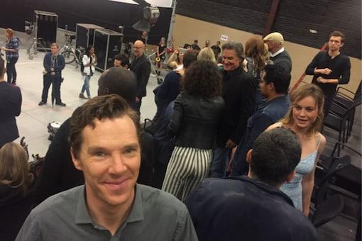 Mark Ruffalo's birthday post for Benedict Cumberbatch featured Tom Holland