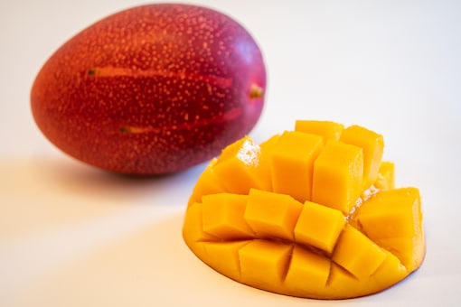 Each Miyazaki mango weighs about 350 grams and is lovely red in colour. (Representational Photo: Shutterstock)
