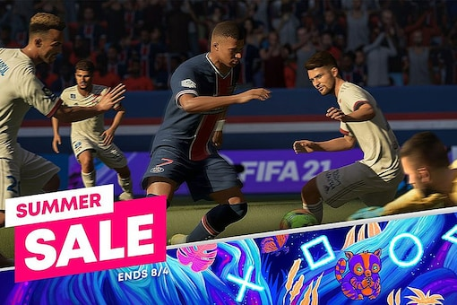 The Sony PlayStation Summer Sale 2021 has more than 1,200 games on discount, including popular FIFA 21 and Call of Duty titles. (Image: Sony)