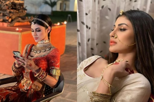 Mouni Roy gave a glimpse of her royal avatar