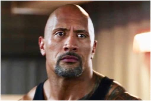 Dwayne Johnson as Luke Hobbs of the 'Fast and Furious' franchise