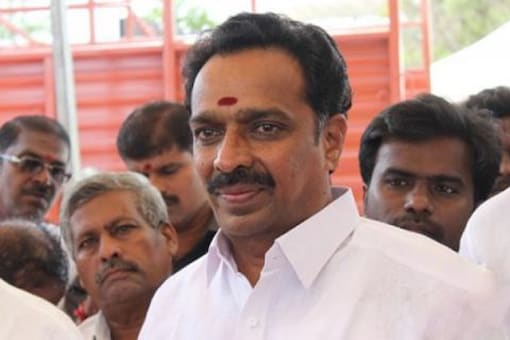 Searches by officials of Directorate of Vigilance and Anti-Corruption were held here and at Karur in various locations linked to the former minister, police said without divulging details. (File photo of MR Vijayabhaskar)