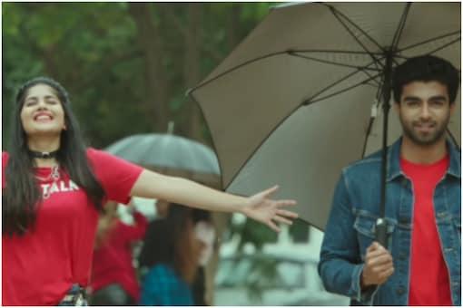 A still from upcoming romantic film Dear Megha