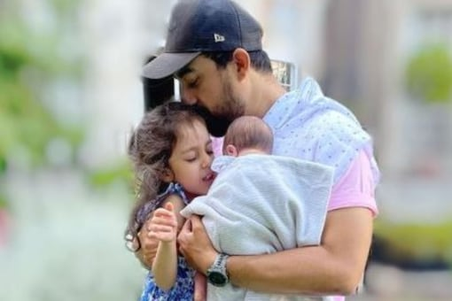 Rannvijay Singha shared a glimpse and revealed the name of his baby boy in latest post on Instagram.