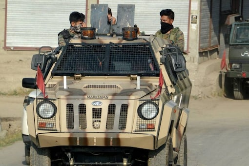 Security forces launched a cordon and search operation in Warpora area of Sopore.