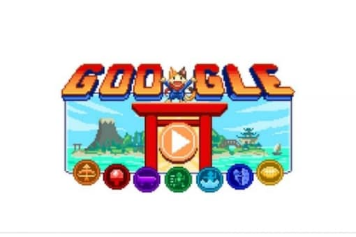 Google celebrates beginning of Tokyo Olympics with a special doodle