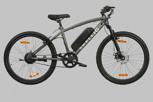 The GoZero Skellig Lite is powered by a detachable EnerDrive 210 Wh lithium battery pack and a 250 W rear hub-drive motor. (Image source: GoZero)