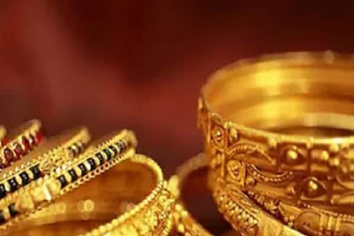 In the international market, gold price inched lower today