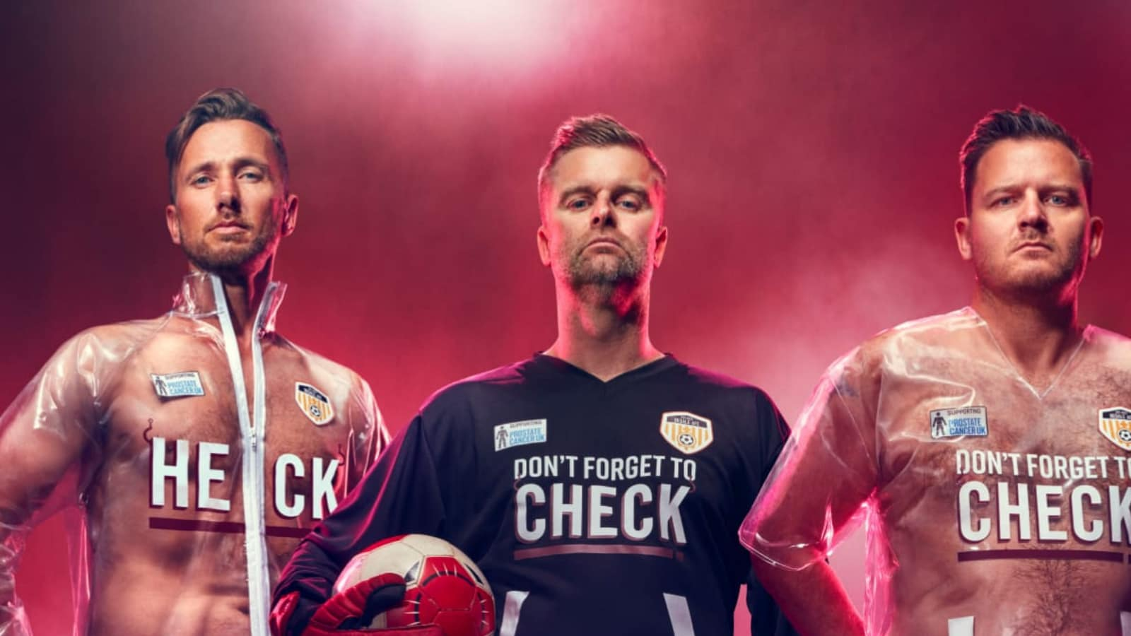 Football Team Bedale AFC Unveil World's First See-through Kit to Raise Awareness About an Important Issue