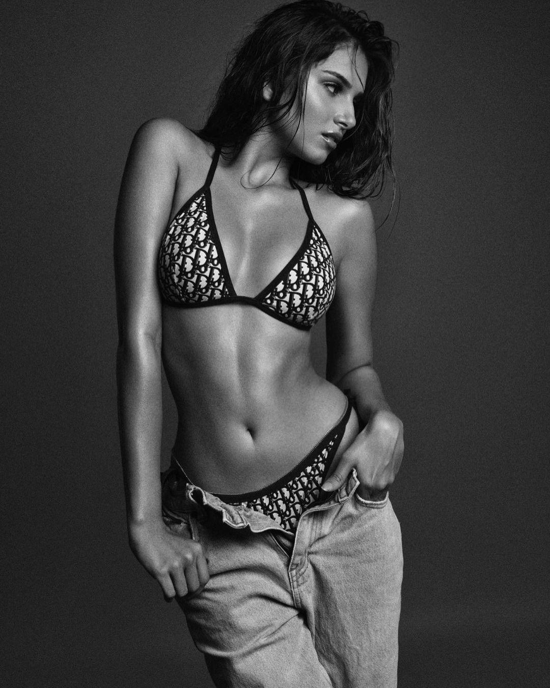 Tara Sutaria Breaking The Internet In Her Dior Bikini Set