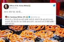 IPS Officer Shares His Love for Jalebis, Wife's Response Leaves Twitter in Splits