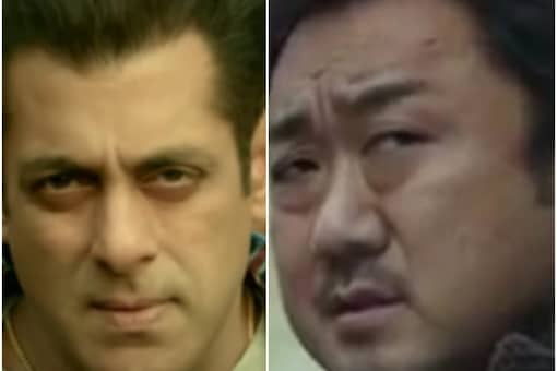 Salman Khan (L) in Radhe: Your Most Wanted Bhai and Don Lee in The Outlaws (R)