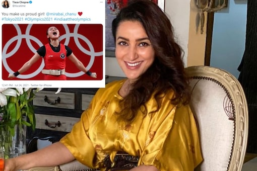 Tisca Chopra becomes a target of incessant trolling for tweeting for Mirabai Chanu with Indonesian weightlifter's photo.