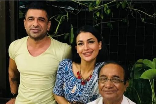 Eijaz Khan shares picture with his father, girlfriend Pavitra Punia,