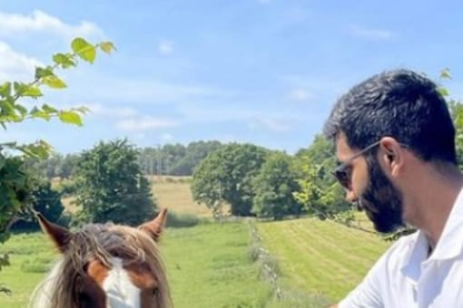 Jasprit Bumrah spending his time in the UK.