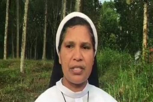 File photo of Sister Lucy Kalappura