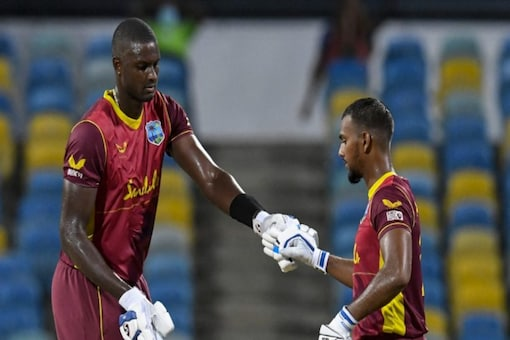 West Indies take on Pakistan in the first T20I.