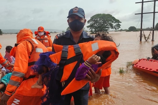 In one of the biggest relief operations carried out in recent years, over 1.35 lakh people have been evacuated to safer areas after their homes were submerged in flood waters, in some places up to 20-feet deep.