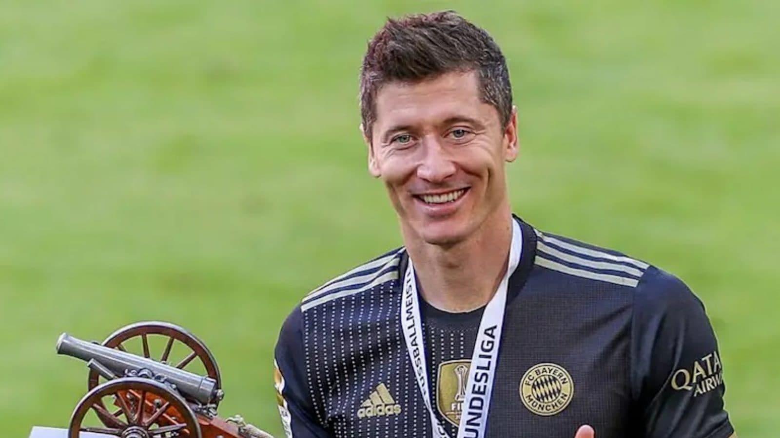 Robert Lewandowski Voted German Player of The Year