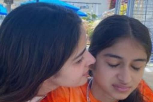 Ananya Panday shares a special bond with her younger sister, Rysa Pandey.