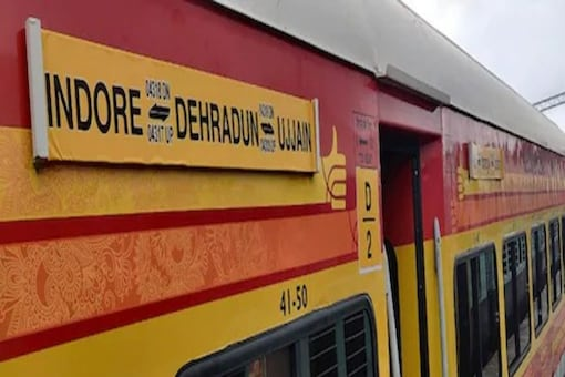 The train has two rakes consisting of 15 LHB coaches.
