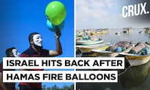 Israel Launches Airstrikes, Halves Gaza Fishing Zone Over Incendiary Balloon Fires