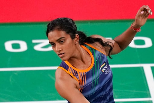 PV Sindhu continues her quest for a second Olympic medal (AP Photo)