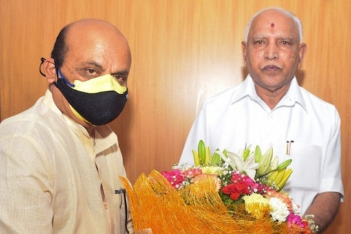 BJP leaders wished Basavaraj Bommai on his appointment as the CM of Karnataka on Tuesday.