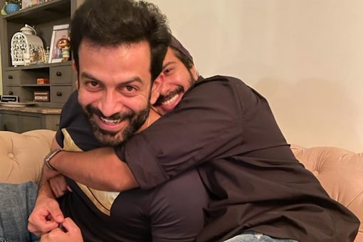 Actors Prithiviraj Sukumaran and Dulquer Salmaan share a great bond with each other.