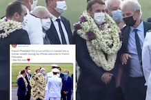 Emmanuel Macron's Photo in Garlands is Fake But Internet Can't Stop Sharing it