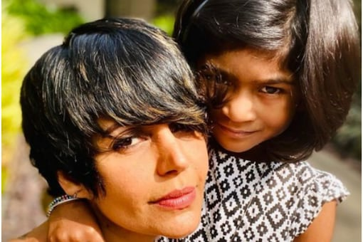 Madira Bedi with daughter Tara Bedi Kaushal