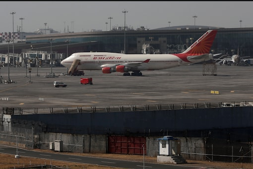 An Air India Boeing 747 parked at Mumbai International Airport. (Image for representation.)