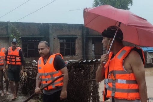 A cloudburst-triggered flashflood hit the Honzar village in the district at around 4.30 am when most of the people were asleep.