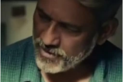 Adil Hussain in a still from ad commercial