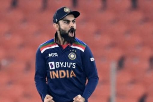 India captain Virat Kohli stayed put at fifth in the latest ICC rankings for the T20 International batsmen (AFP Photo)