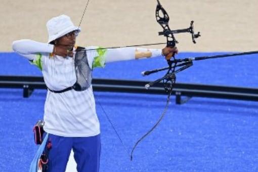 Deepika Kumari in action at Tokyo 2020 (AFP)
