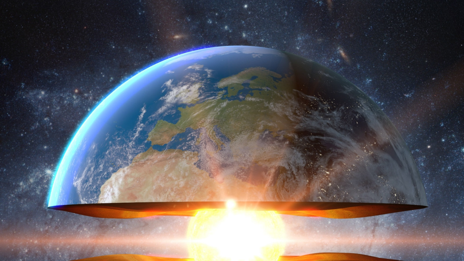 Miles Beneath Your Feet, Earth's Inner Core is Growing More on One Side. Here's Why the Planet Isn't Tipping
