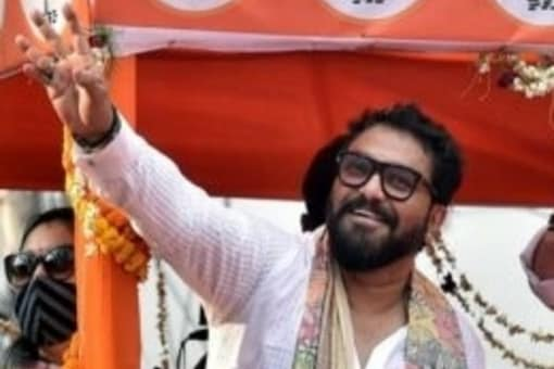 Two-time MP Babul Supriyo was among the 12 ministers who were dropped from Prime Minister Narendra Modi's cabinet on July 7 as part of a rejig. File pic