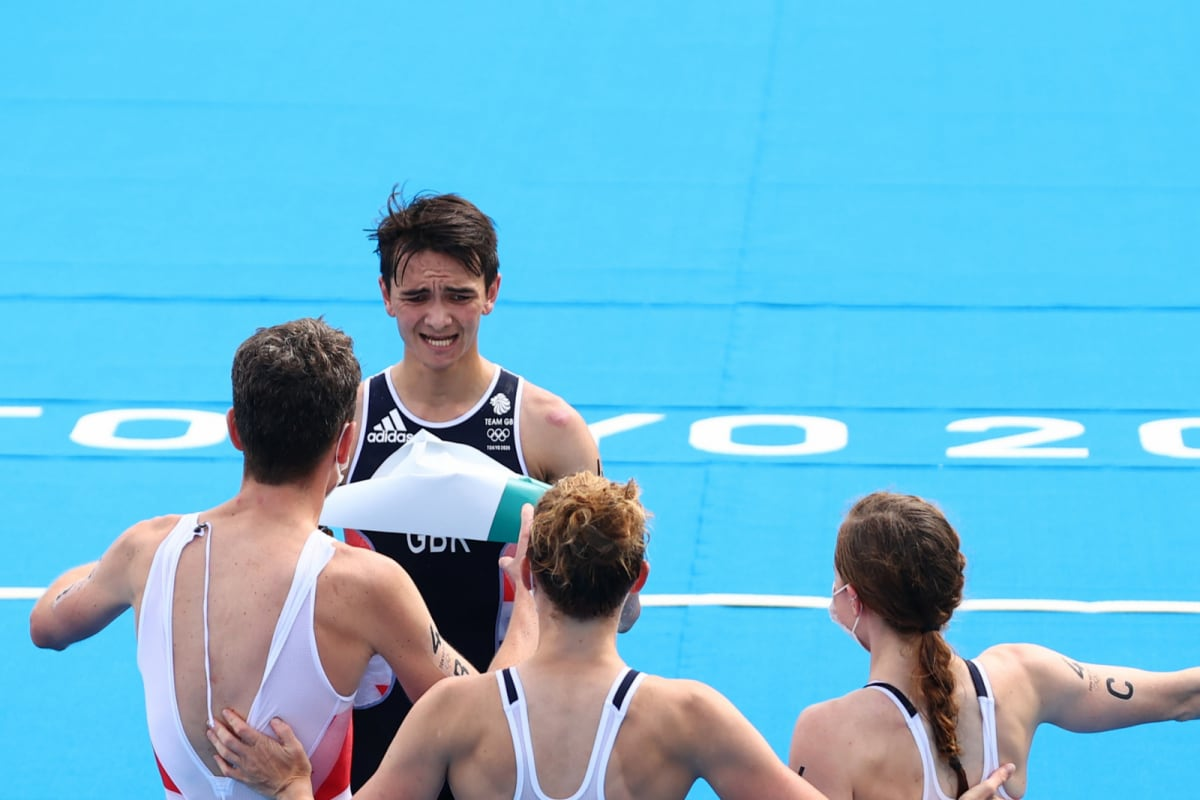 Tokyo Olympics: Britain Win First-ever Mixed-relay Triathlon Gold