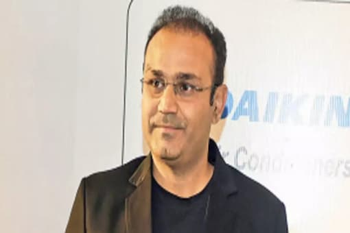 Sehwag has again made headlines with his social media post.