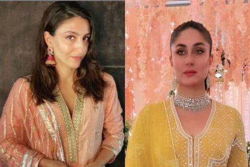 Soha Ali Khan and Kareena Kapoor Khan