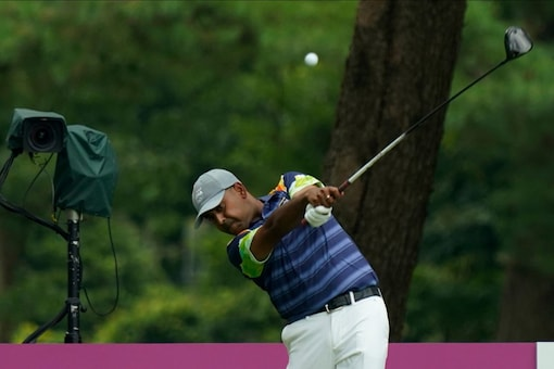 Anirban Lahiri ended Tied-28th after the third round with a total of 6-under 207.  (AP Photo)
