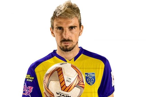 Enes Sipovic joined Kerala Blasters after a year at Chennaiyin. (KBFC photo)