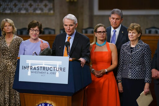 As Biden's Infrastructure Plan Advances, Can GOP Get To Yes?